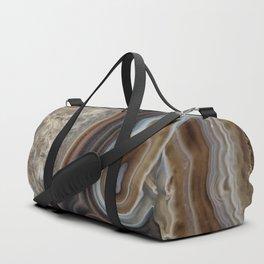 Mocha swirl Agate Duffle Bag