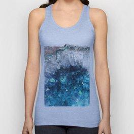 Blue Crystals Unisex Tank Top
