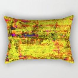 Cross the Line Rectangular Pillow