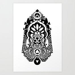 Krystal Art Print