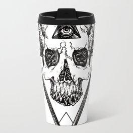 Damned Skull Travel Mug