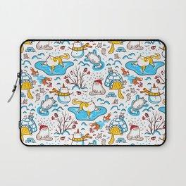 Winter Cats Laptop Sleeve
