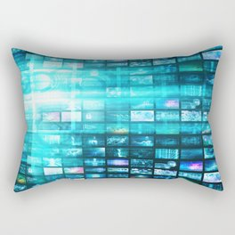 Disruptive Technologies and Technology Disruption as a Tech Concept Rectangular Pillow