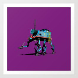 Thomas the mech Art Print