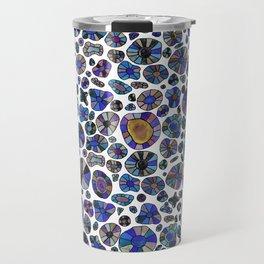 Barca Dots Pattern blue/purple Travel Mug