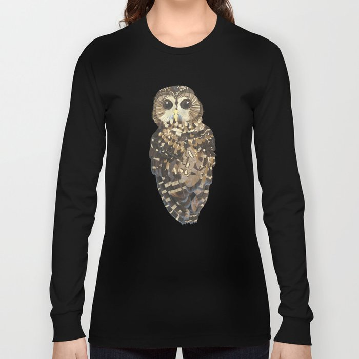 Northern Spotted Owl. Long Sleeve T-shirt