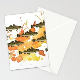 Fresh Cornish Cod Stationery Cards