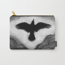 Flight of the Crow Carry-All Pouch