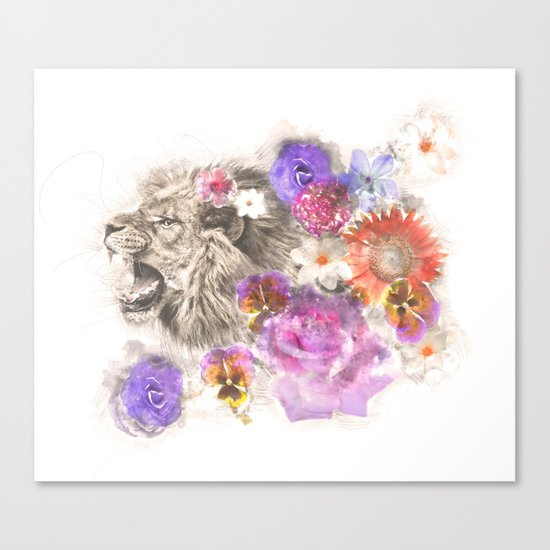 Lion Spirit Canvas Print