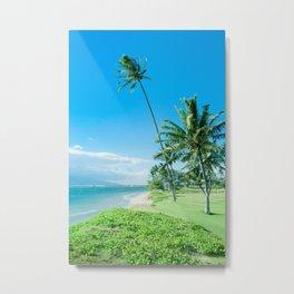 Waipuilani Beach Kīhei Maui Hawaii Metal Print