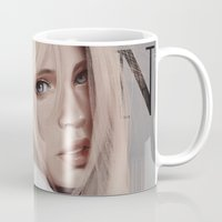 snk Mugs featuring SnK Magazine: Hisotria by putemphasis