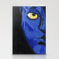 avatar Stationery Cards featuring Avatar by Paxelart