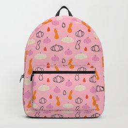 Pumpkin & Gourds - Pink Backpack