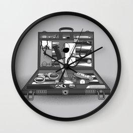 Lost Souvenirs Wall Clock