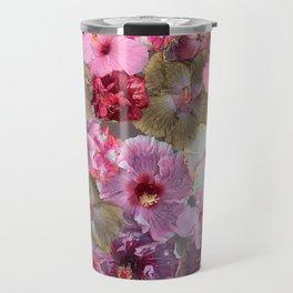 Hibiscus glow Travel Mug