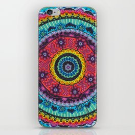 Rainbow Mandala iPhone Skin