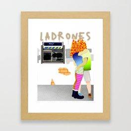 Kamikaze Lovers Framed Art Print