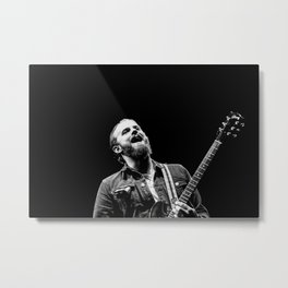 Caleb Followill (Kings of Leon) - I Metal Print