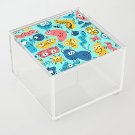 Colorful Character Shapes Acrylic Box