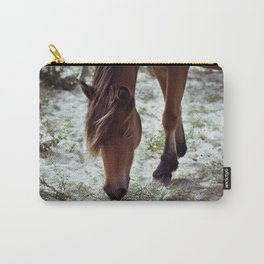 Grazing Pony Carry-All Pouch