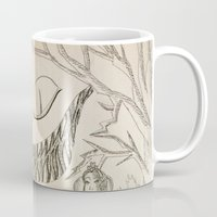 alice in wonderland Mugs featuring Wonderland  by Jgarciat