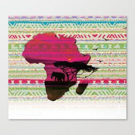 African Pride Canvas Print