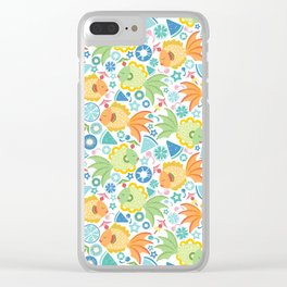 Tropical Fruit Fish! Clear iPhone Case