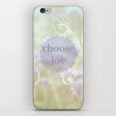 Choose Joy iPhone & iPod Skin