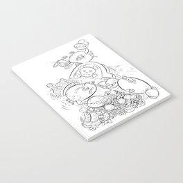 Buried Treasure - ink Notebook