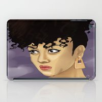 afro iPad Cases featuring Afro by Adelys