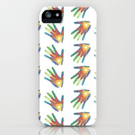 Big Hand, Little Hand iPhone Case