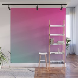 TOXIC FUMES - Minimal Plain Soft Mood Color Blend Prints Wall Mural