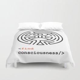Host Consciousness Duvet Cover