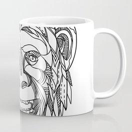 Humanzee Smiling Doodle Coffee Mug