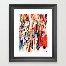 Veins turn into roots Framed Art Print