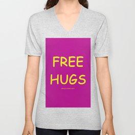 Free Hugs While Stocks Last Unisex V-Neck