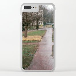 UNC campus Clear iPhone Case