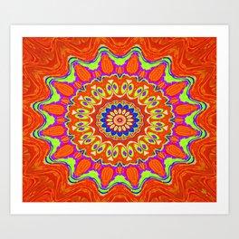 Symmetric composition 51 Art Print