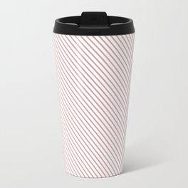Bridal Rose Stripe Travel Mug