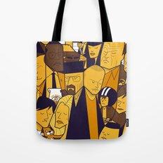 Breaking Bad (yellow version) Tote Bag