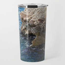 Albanian Cliffs Travel Mug