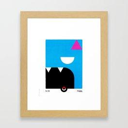 PKMNML #041 GOL BAT Framed Art Print