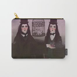 NO FRILL TWINS/MAGIC Carry-All Pouch
