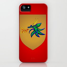 Dragonfire Knot iPhone Case