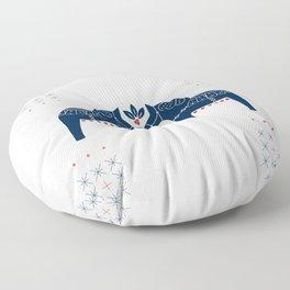 Dala Horse Floor Pillow