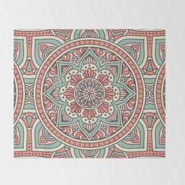 Batik Style 10 Throw Blanket