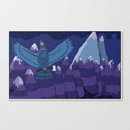Lumber Owl Canvas Print