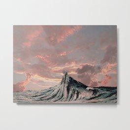 WAVE # 2 - sky Metal Print