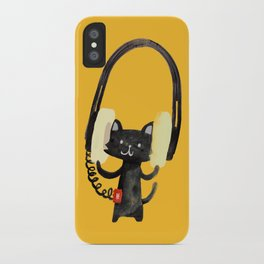 I Love Huge Headphone iPhone Case