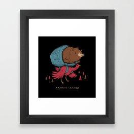 kazooie banjo Framed Art Print